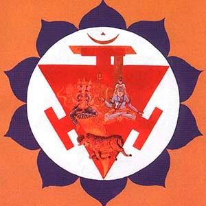 manipura chakra mandala